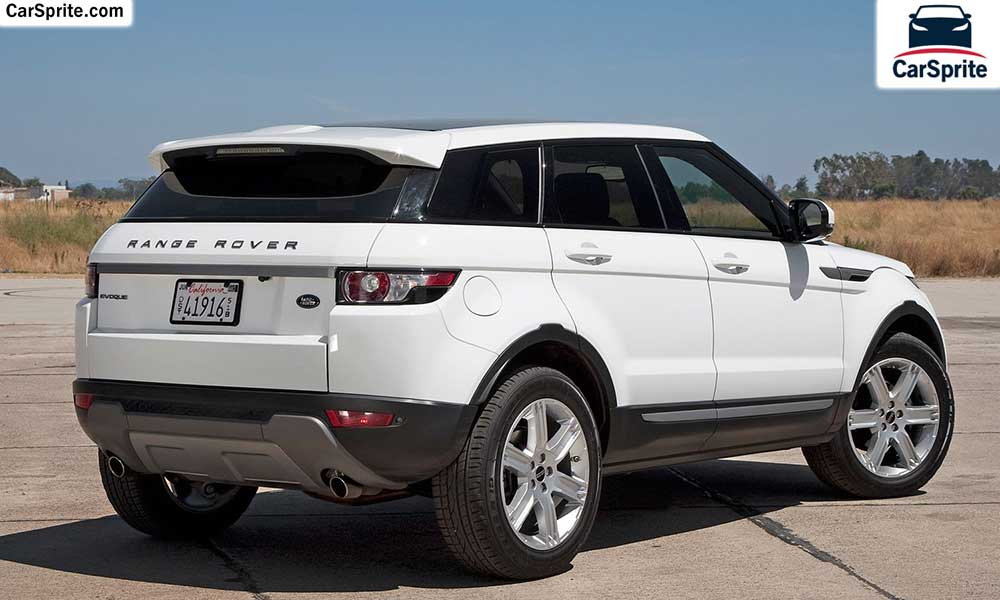 Land Rover Range Rover Evoque 2017 Prices And