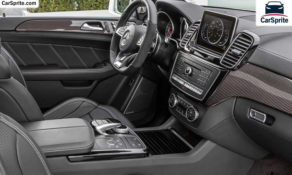 Mercedes benz gle 63 amg 2017 prices and specifications in for Mercedes benz qatar