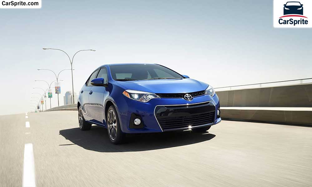 Toyota Corolla 2017 prices and specifications in Qatar ...