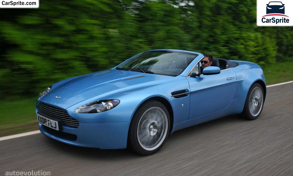 Aston Martin Vantage Roadster 2017 Prices And Specifications In