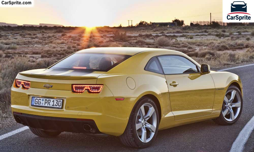 Chevrolet Camaro Coupe 2019 prices and specifications in Qatar | Car Sprite