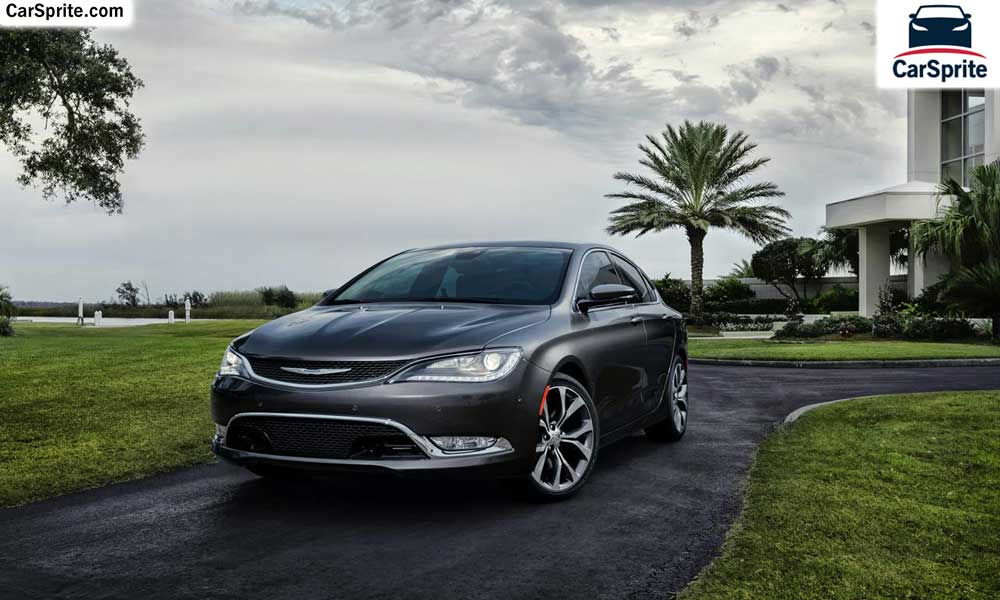 Chrysler 200 2019 prices and specifications in Qatar | Car ...