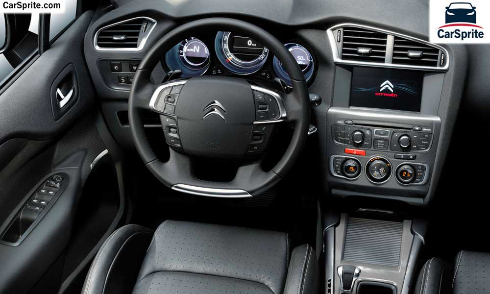 Citroen C4 2018 prices and specifications in Qatar | Car Sprite