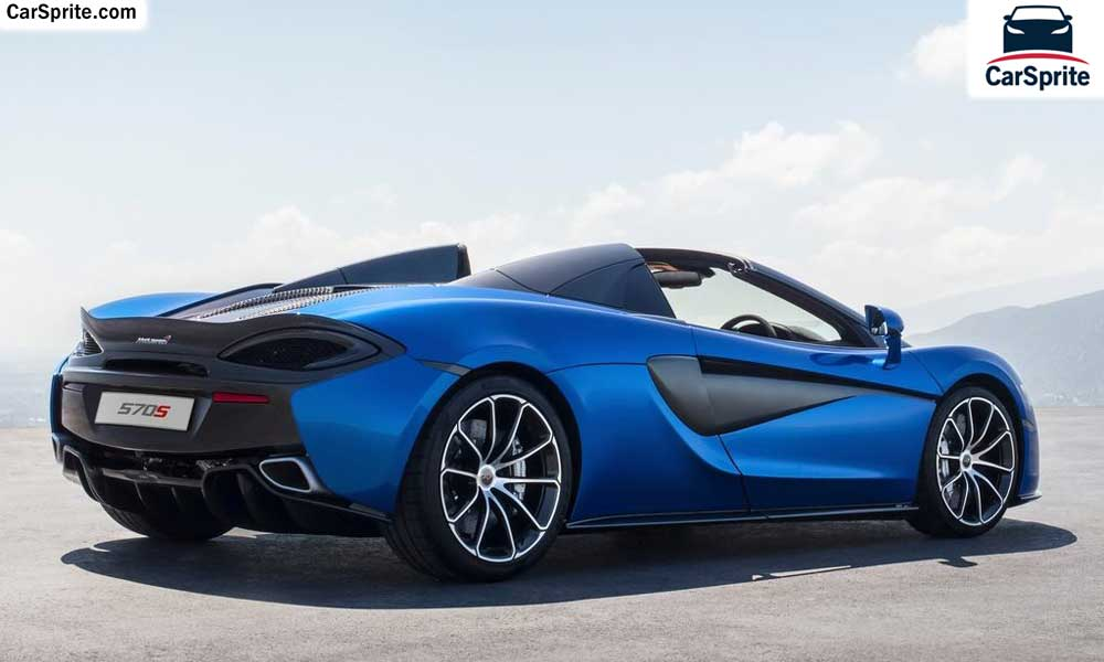 McLaren 570S Spider 2019 prices and specifications in Qatar | Car Sprite