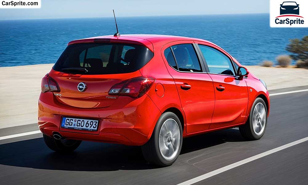 Opel Corsa 2017 prices and specifications in Qatar | Car Sprite
