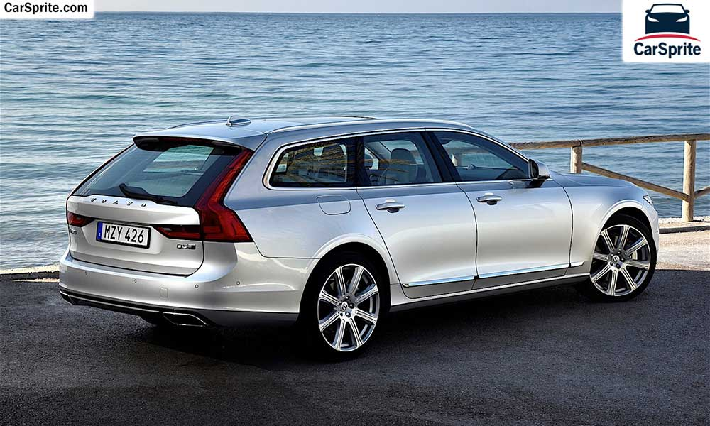 Volvo V90 2018 prices and specifications in Qatar | Car Sprite
