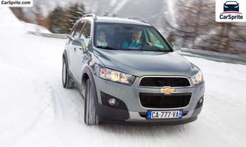 Chevrolet Captiva 2019 prices and specifications in Qatar | Car Sprite