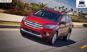 Ford Escape 2019 prices and specifications in Qatar | Car Sprite