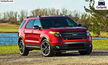 Ford Explorer 2019 prices and specifications in Qatar | Car Sprite
