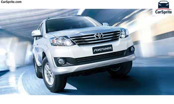 Toyota Fortuner 2018 prices and specifications in Qatar | Car Sprite